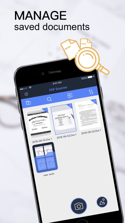 PDF Scanner-Documents Scan App screenshot-4