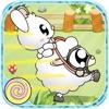もちひつじ: ピーピーウサギの草競羊