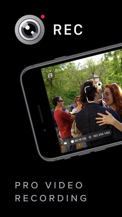 REC - Pro Video Camera screenshot-0