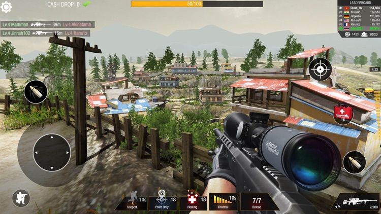 Bullet Strike: Sniper 3D PvP screenshot-0