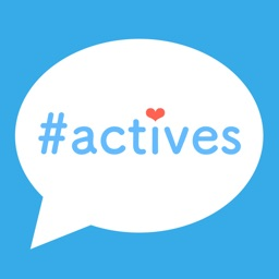秘密のチャットアプリ - actives
