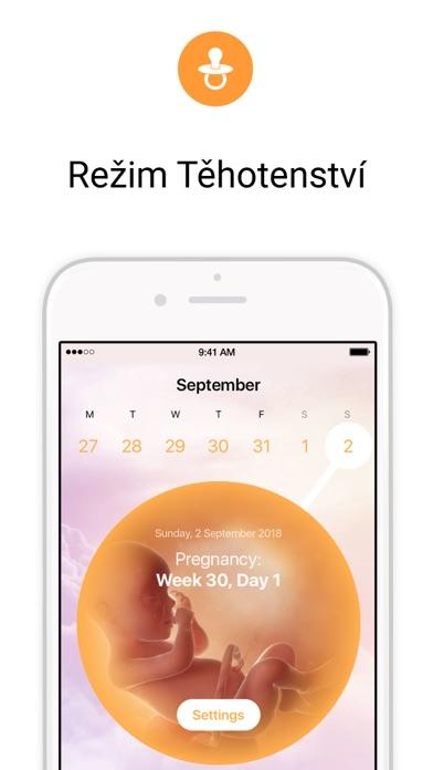 Screenshot for Menstruační Kalendář Flo in Czech Republic App Store