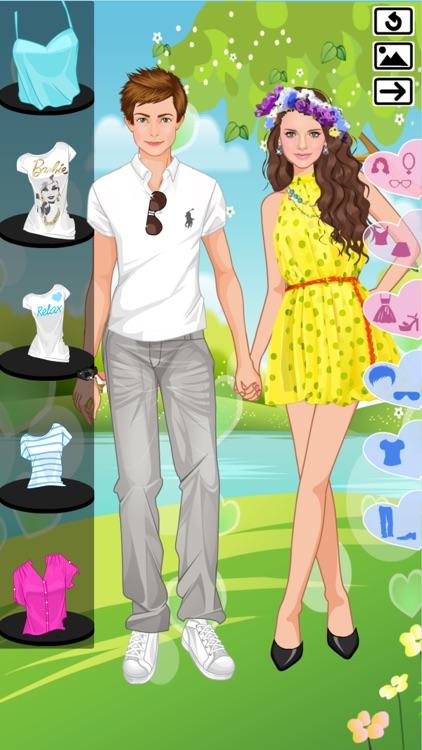 Couples in Love - Dress up screenshot-7
