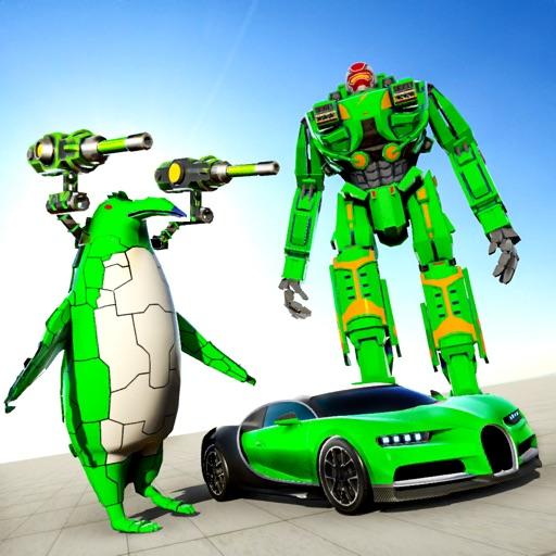 Penguin Robot Car - War Robot