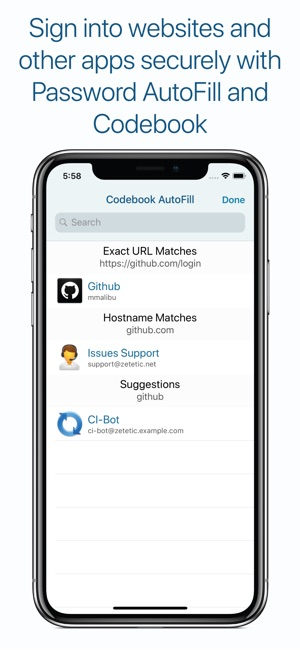 Codebook Password Manager on the App Store