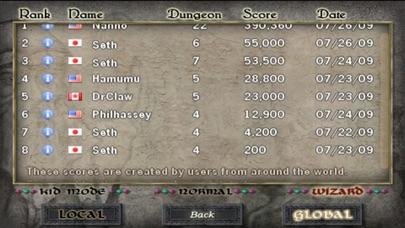 Dungeon Scroll screenshot1