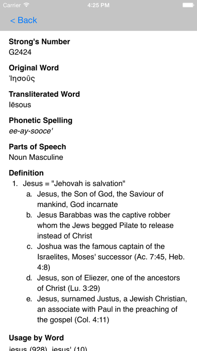 Strong's Concordance with KJV by Bible App Labs LLC (iOS