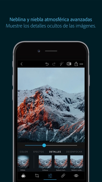 Screenshot for Photoshop Express-Editor fotos in Spain App Store
