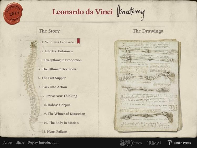 Leonardo da Vinci: Anatomy screenshot-0