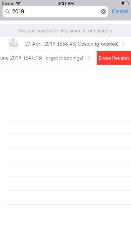 Receipts! screenshot-9