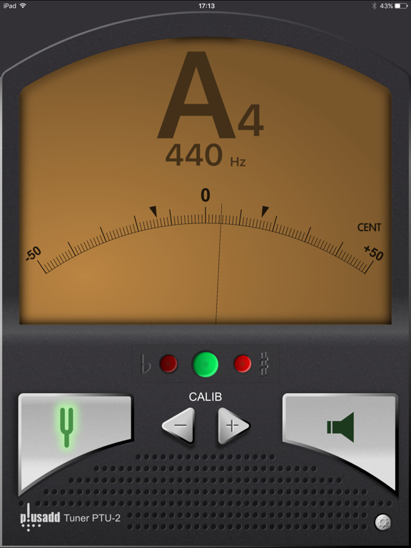 Tuner Lite by plusadd – The Ultimate Free Chromatic Tuner for Guitar, Bass, Ukulele  and Violin screenshot