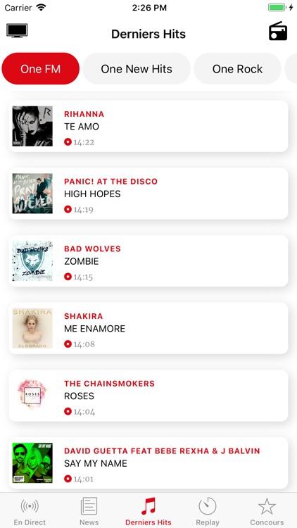 One FM screenshot-4