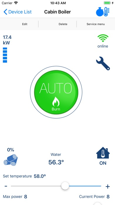 Screenshot for tRemote IOT in Singapore App Store