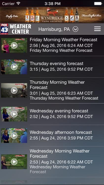 FOX43 Harrisburg Weather screenshot-4