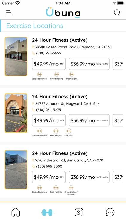 Ubung: Gyms & friends screenshot-3