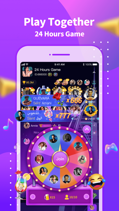 StarChat-Party in the room Screenshot