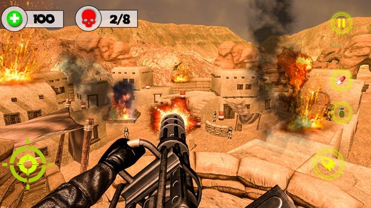 Desert Storm Gunship Gunner 3d