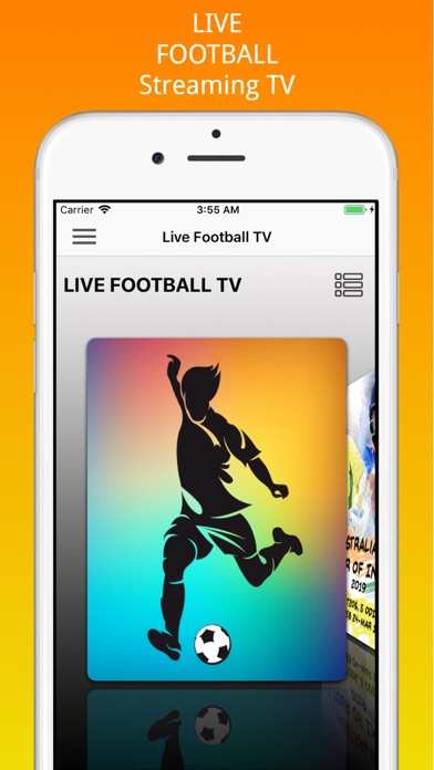 Live Football Streaming Tv by Davide Angello (iOS, United