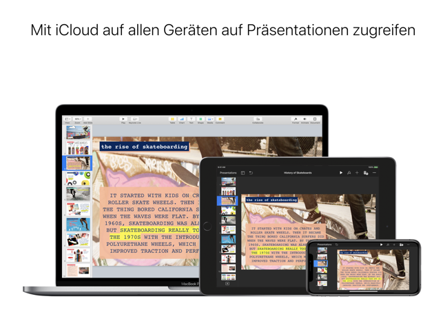 Keynote Screenshot