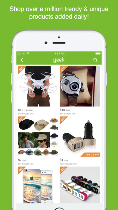 messages.download Geek - Smarter Shopping software