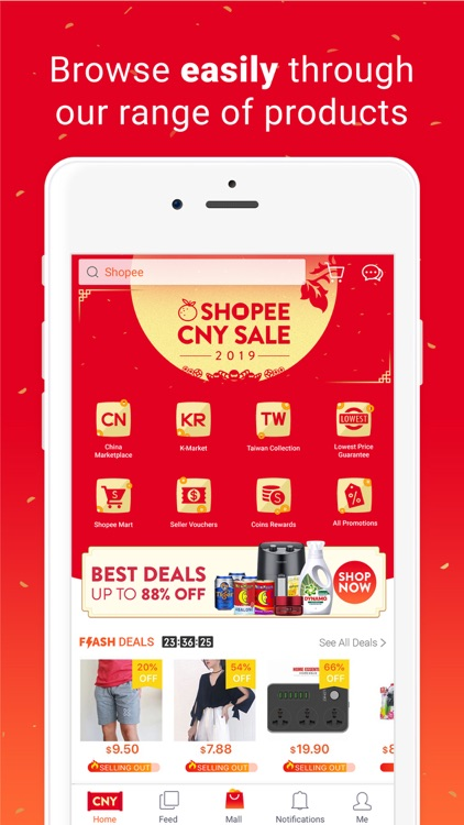 Shopee: Chinese New Year Sale