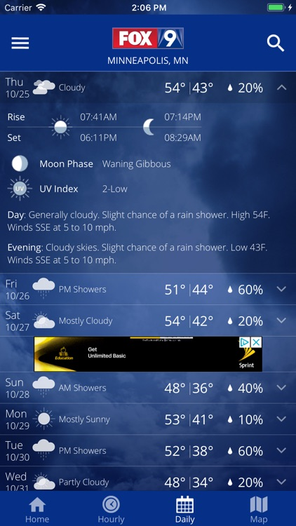 FOX 9 Weather – Radar & Alerts screenshot-3