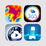 Japan weather bundle - radar, local and global weather forecast and storm tracks