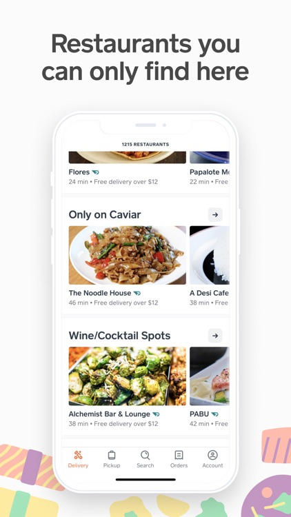 Caviar: Premium Food Delivery screenshot-3