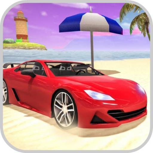Holiday Beach:Driving Car Pro