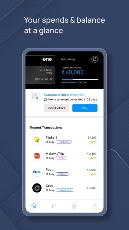 OneCard - Metal Credit Card screenshot-4