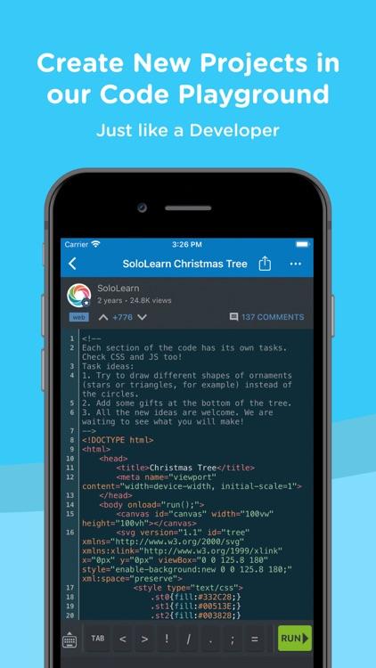 SoloLearn: Learn to Code screenshot-3
