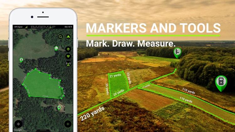 BaseMap: Hunting, Fishing App screenshot-4