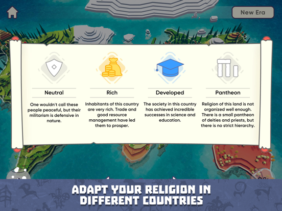 God Simulator. Religion Inc. Screenshots
