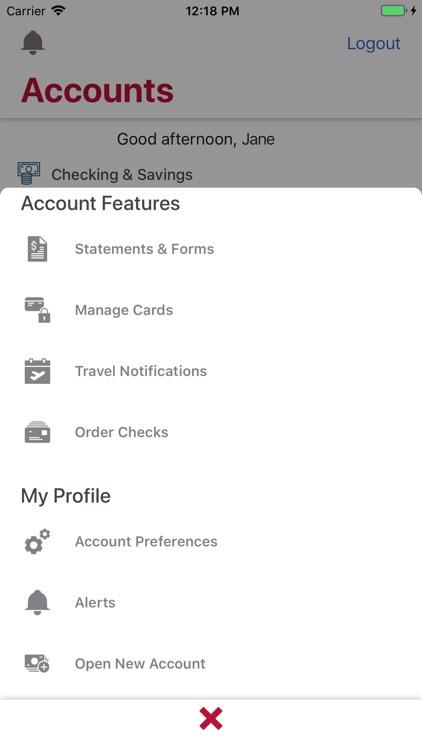 Bank of Albuquerque Mobile screenshot-5