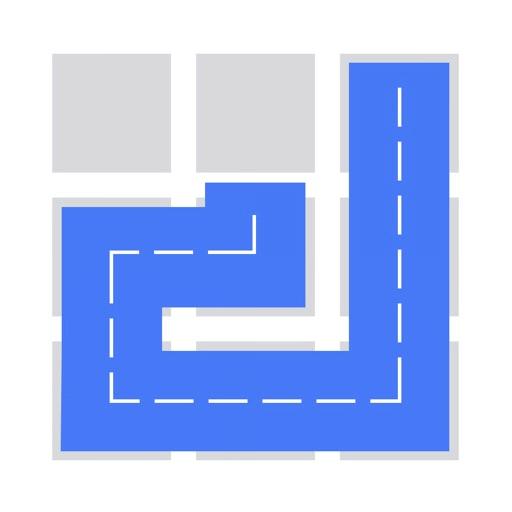 Fill 一筆書き パズル ゲームのアイコン
