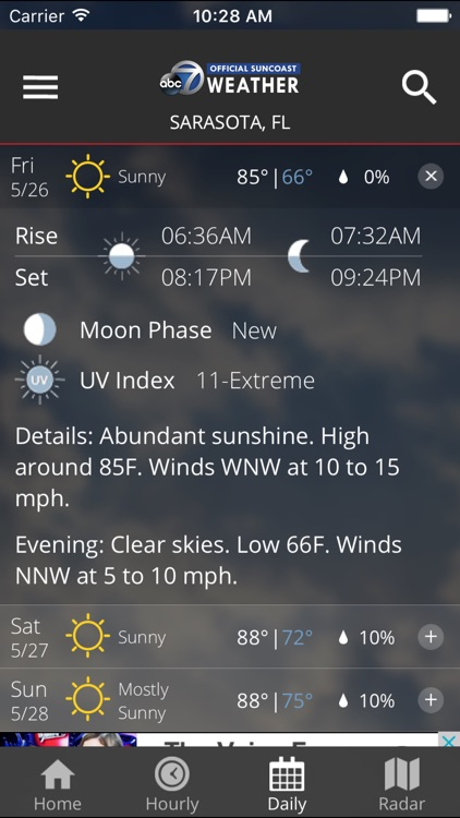 ABC7 WWSB First Alert Weather screenshot-3