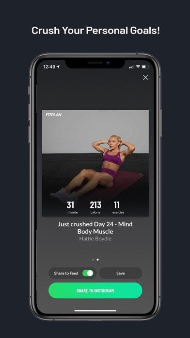 Fitplan: Gym & Home Workoutのおすすめ画像7