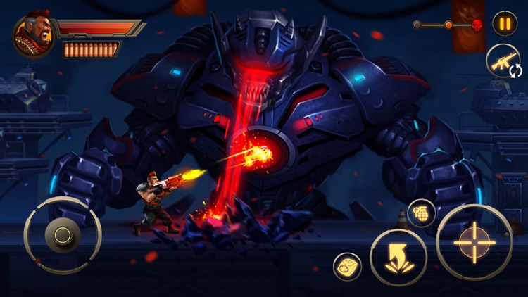 Metal Squad: Shooting Game screenshot-3