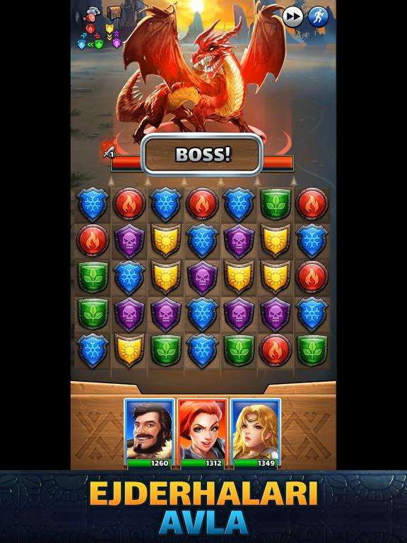 Empires & Puzzles Epic Match 3 ipad ekran görüntüleri