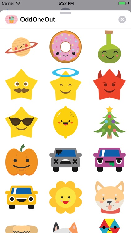 Odd One Out Sticker Pack