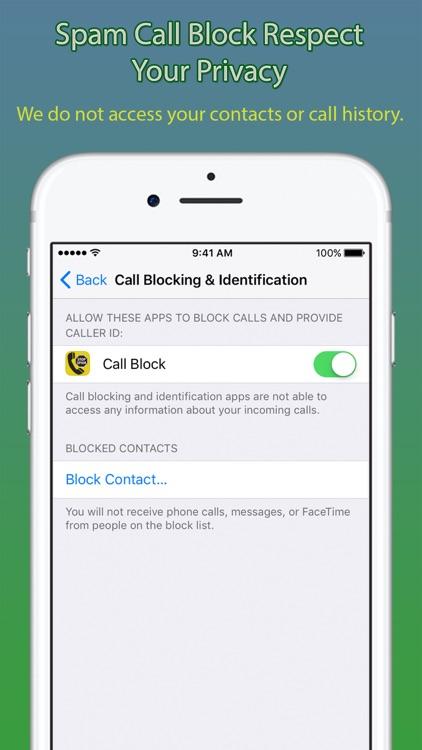 Spam Call Block Pro screenshot-3