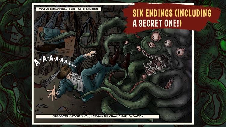 Lovecraft Quest - A Comix Game screenshot-7