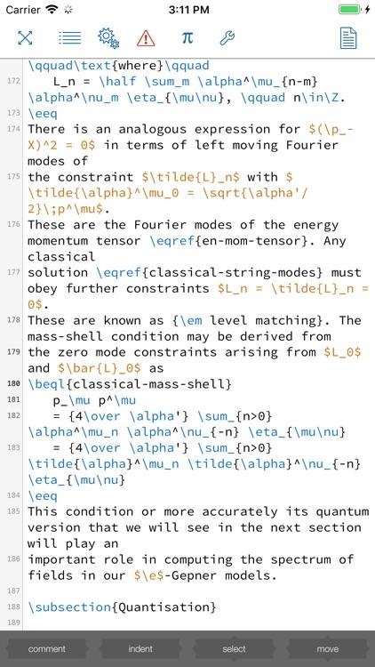 Texpad : LaTeX editor screenshot-5