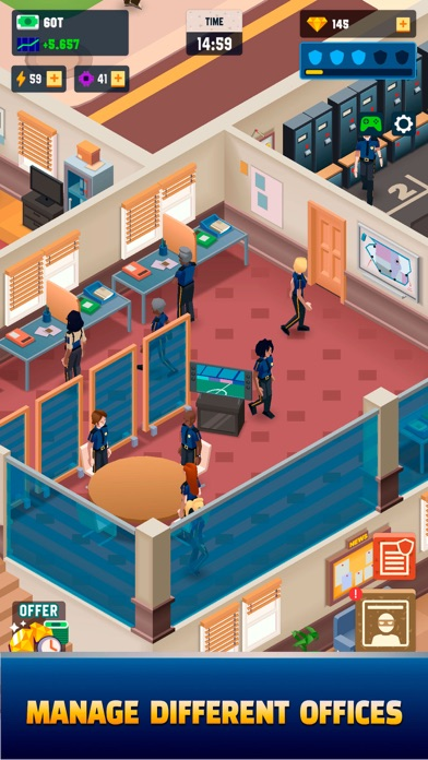 Idle Police Tycoon - Cops Game free Resources hack