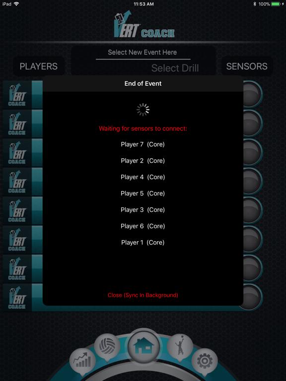VERT Coach Screenshots