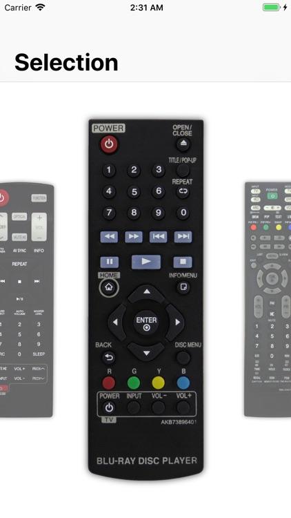 Remote control for LG screenshot-7