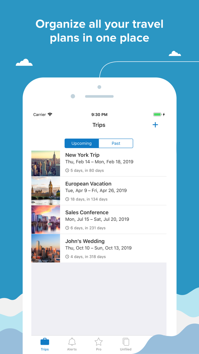 TripIt: Travel Planner Screenshot