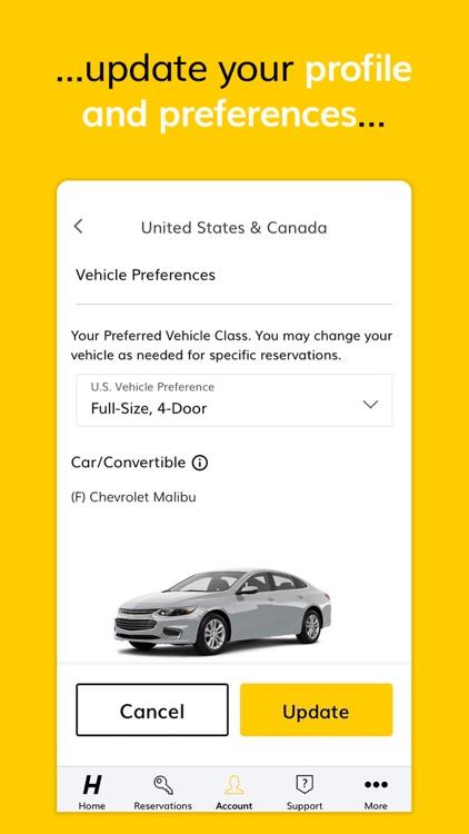 Hertz Car Rental screenshot-6