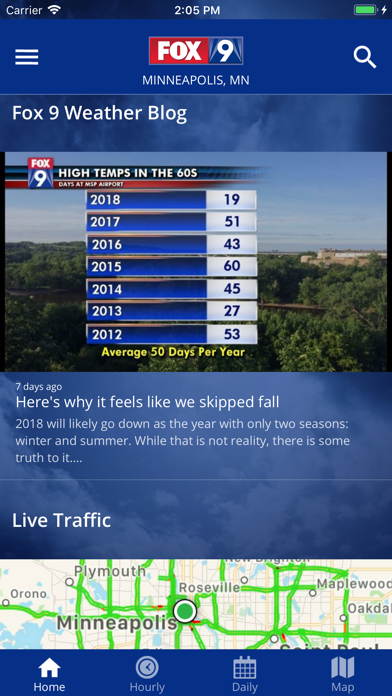 FOX 9 Weather – Radar & Alertsのおすすめ画像2