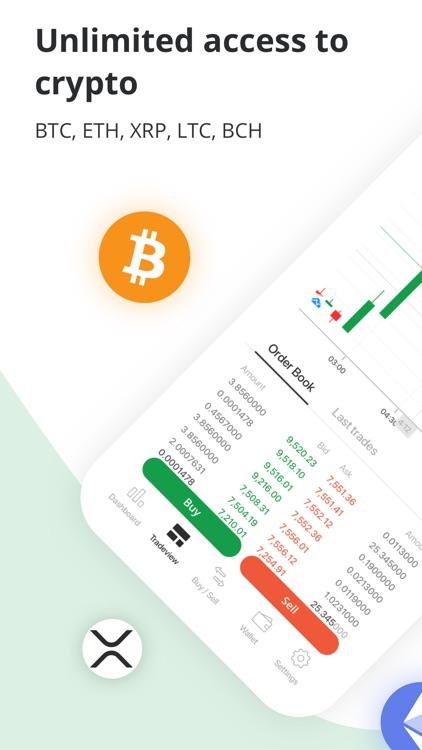 Bitstamp – crypto exchange app